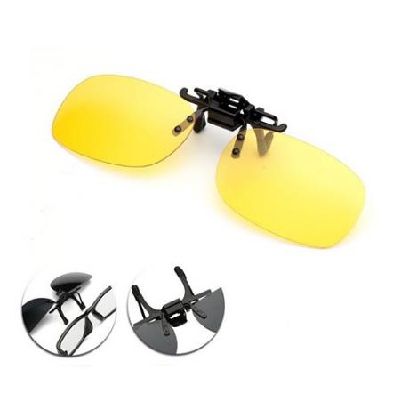 Polarized Sunglasses Clip (yellow)